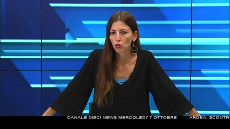 Canale 10 News 07/10/2020