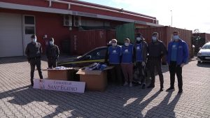 85mila capi di abbigliamento sequestrati e donati alla Comunità di Sant'Egidio 1