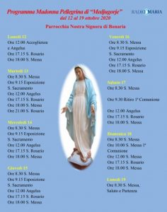 programma madonnina medjugorje