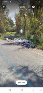 Marina di Ardea, ancora discarica abusiva in via dell'Idrovora. I residenti chiedono la completa bonifica 1