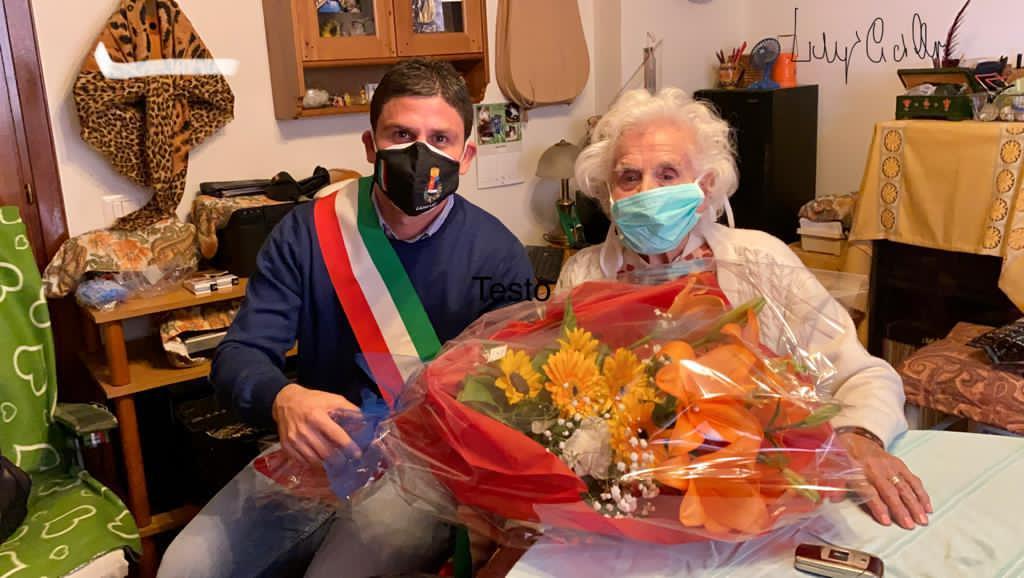 100 anni: auguri Renata