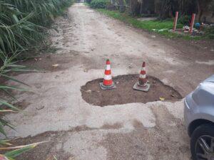 Ardea, lavori stradali fatti male: la denuncia dei cittadini (FOTO) 2
