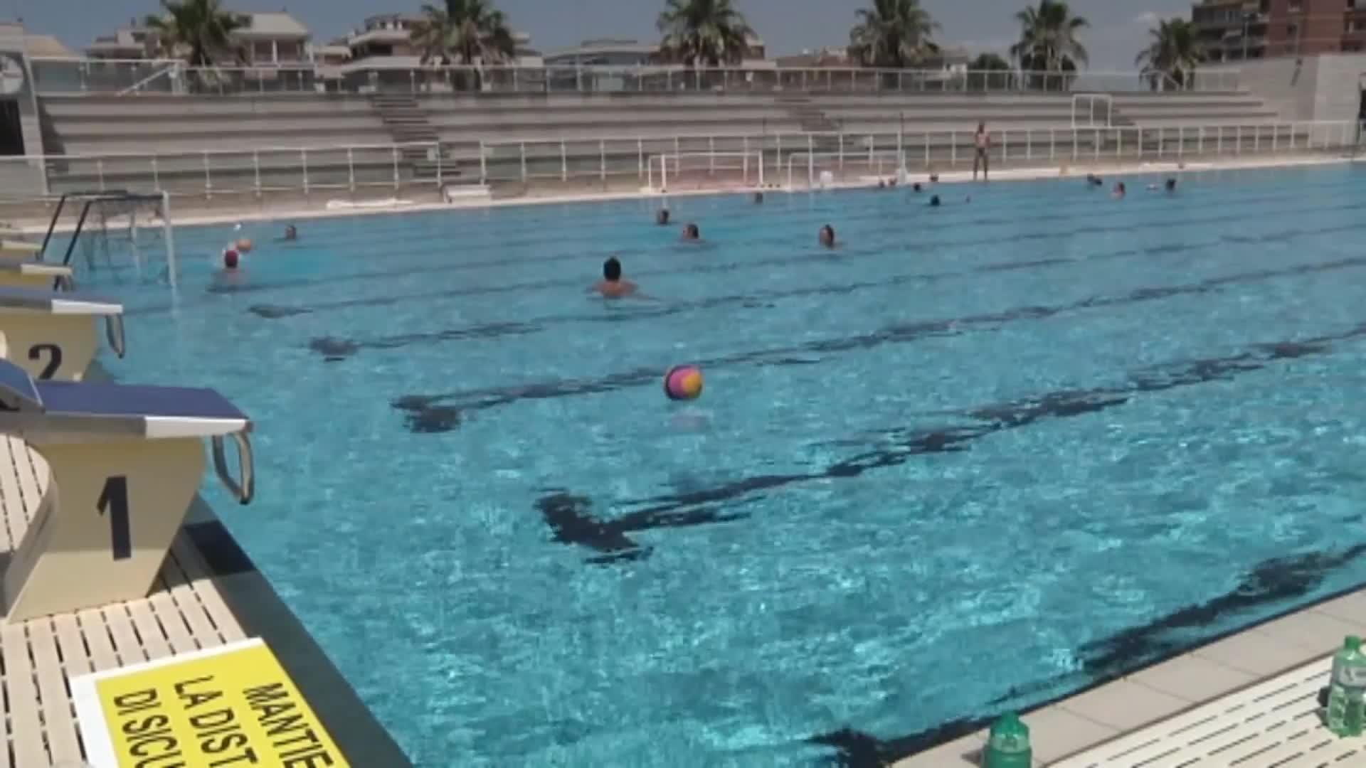 A Ostia le prove degli europei di nuoto
