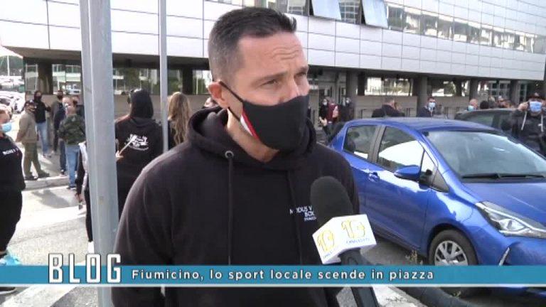 Fiumicino lo sport locale scende in piazza