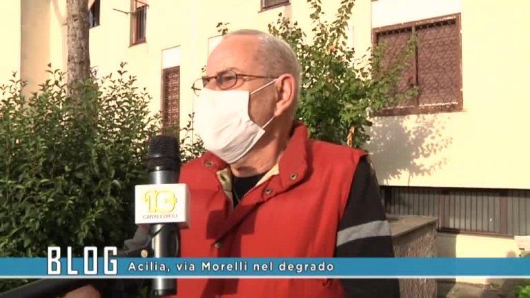 Acilia via Morelli nel degrado