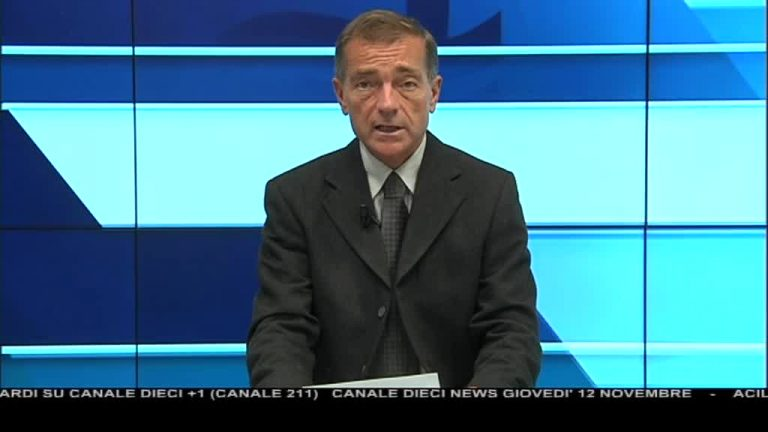 Canale 10 News 12/11/2020