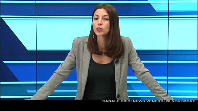 Canale 10 News 20/11/2020