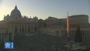 Roma, gli abeti di Natale a piazza San Pietro e piazza Venezia (LIVECAM) 1