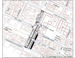 Ostia, sensi unici e parcheggi in ordine a ridosso del mercato saltuario 1