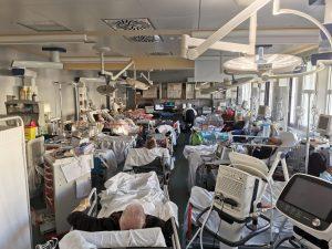 Il covid-19 blocca le ambulanze e manda in tilt l'emergenza a Roma 1