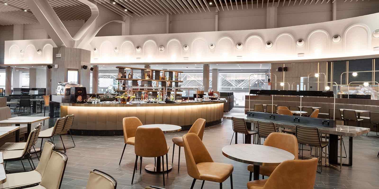 È all'Aeroporto Leonardo Da Vinci la «Plaza Premium Lounge» migliore d'Europa 1