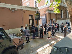 Screening anti-covid19 per gli avvocati di Roma. Protesta per le code agli sportelli 1