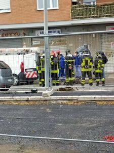 Ostia: fuga di gas in via Casana. Evacuati diversi palazzi e l'ufficio postale (FOTO) 1