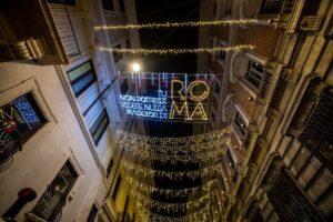 Roma, accese le luminarie. Tutte le iniziative per le festività natalizie 4