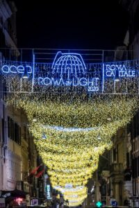 Roma, accese le luminarie. Tutte le iniziative per le festività natalizie 3