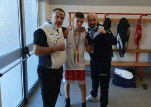Roma, Tiziano Mecchi campione italiano di boxe Junior 48 1