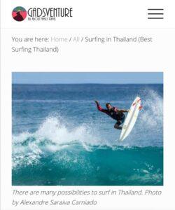 """""""Vieni a fare surf nel mare di Ostia"""". Anzi, no, della Thailandia 2"""