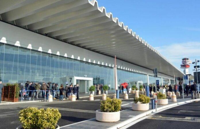 aeroporto fiumicino fondo volo