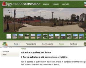 """""""Parco pubblico ma privato"""": lo strano caso del Villaggio Verde ad Acilia 1"""
