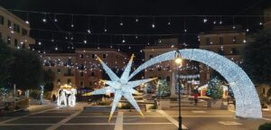 Natale ad Anzio: le luminarie sono uno spettacolo (VIDEO) 1