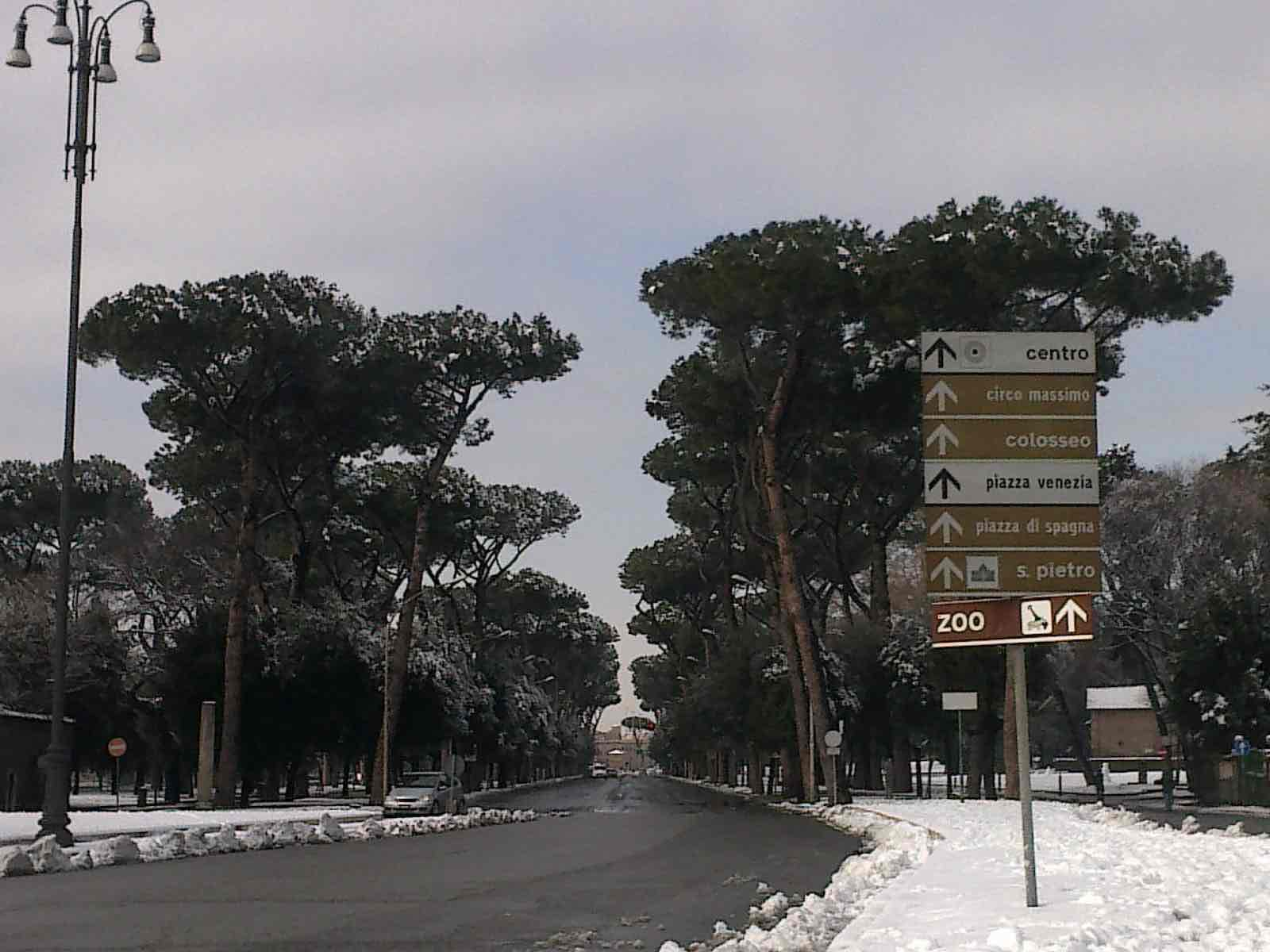 Varato il piano neve e ghiaccio dal Comune di Roma 1