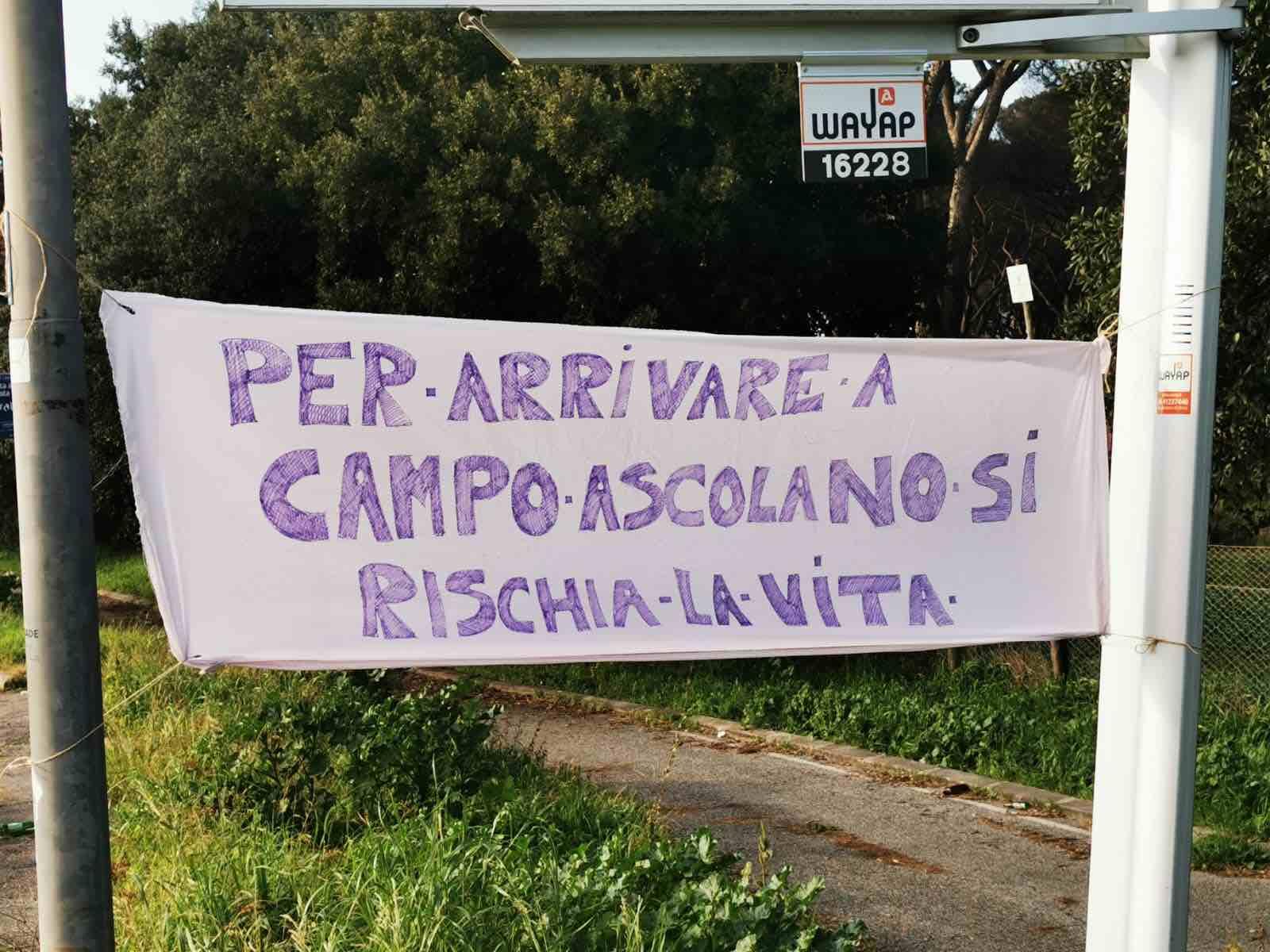 Torvaianica: protesta per le condizioni della strada che dovrebbe salvare l'Italia 2