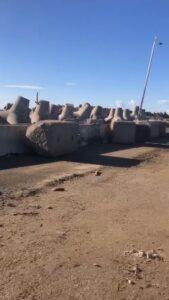"""Spiaggia Vecchio Faro, il sindaco: """"Intervento di emergenza"""" 2"""