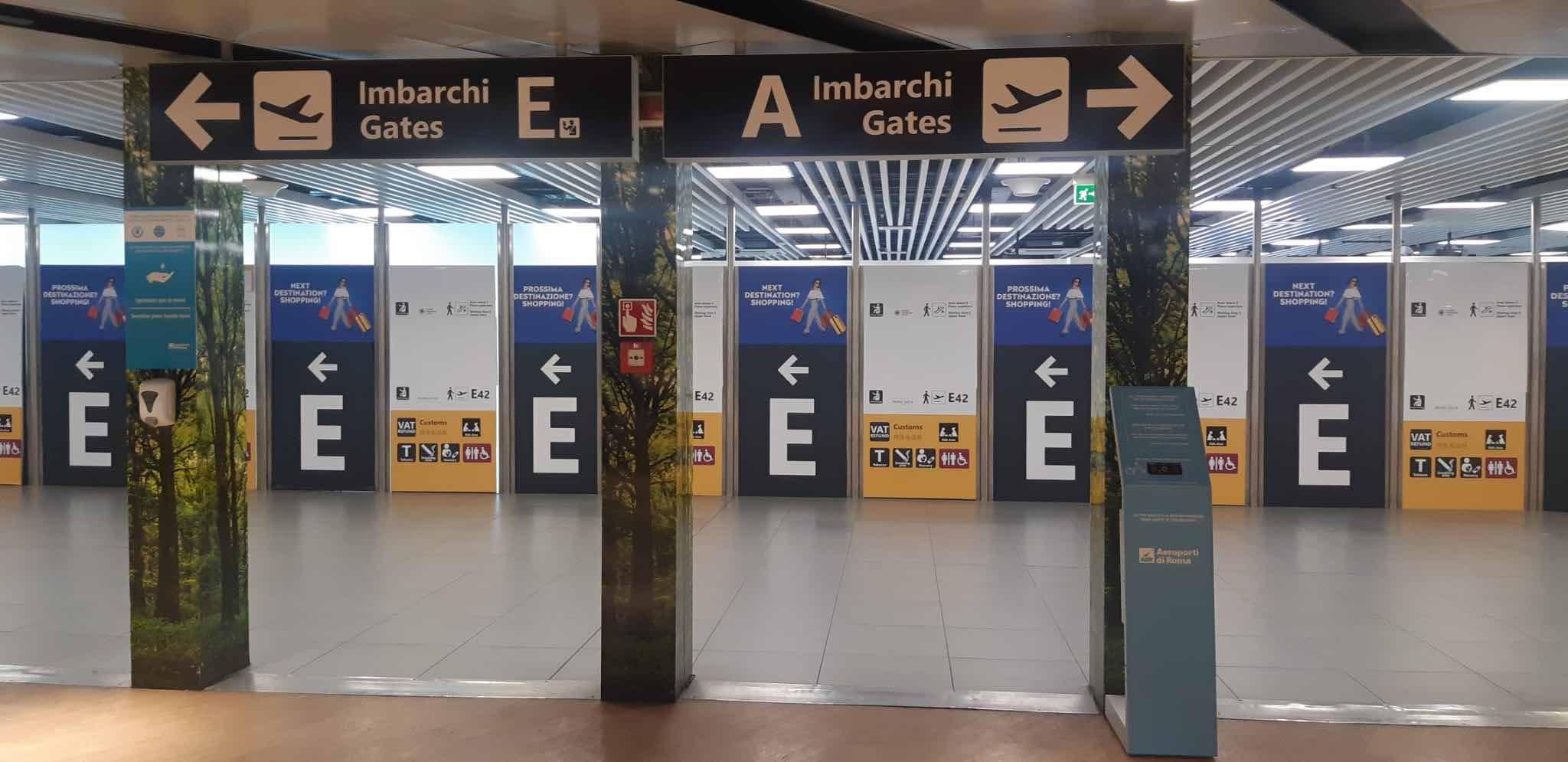 Feedback Forrester: a Fiumicino i passeggeri possono dare i voti ai servizi aeroportuali 1