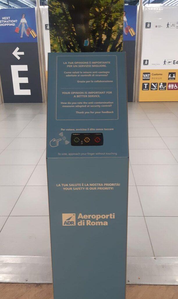 Feedback Forrester: a Fiumicino i passeggeri possono dare i voti ai servizi aeroportuali 2