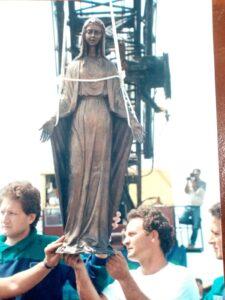 Ostia, rubata la Madonnina della processione di Ferragosto (VIDEO) 1