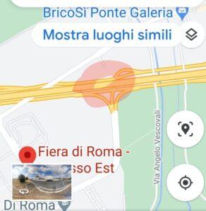 Cade un albero, chiuso lo svincolo per la Fiera sulla Roma-Fiumicino (VIDEO) 1
