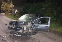 incidente auto ardea