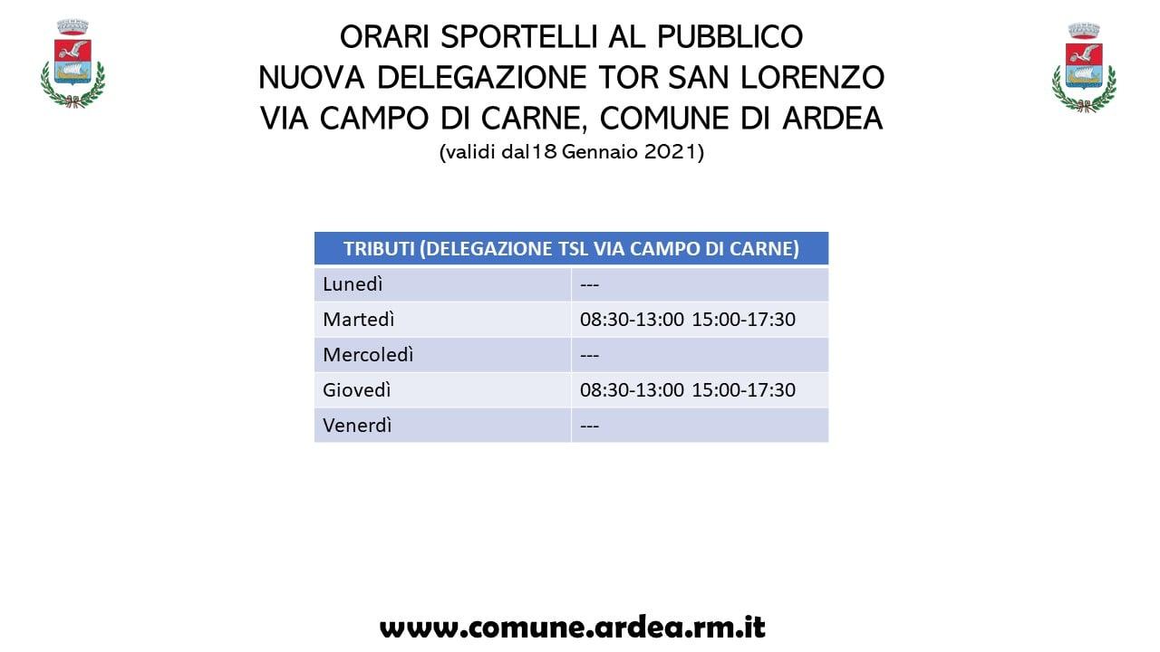 Ardea: aperto l'ufficio tributi a Tor San Lorenzo. Ecco dove e gli orari 1