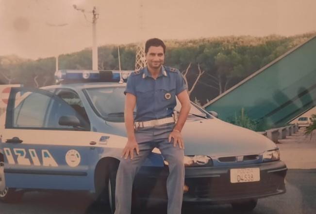 Il poliziotto Antonio Leo