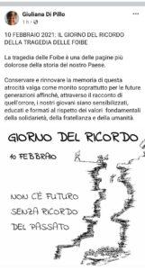 """Dario Cologgi (FdI): """"Il X Municipio ignora il Giorno del Ricordo"""" 2"""