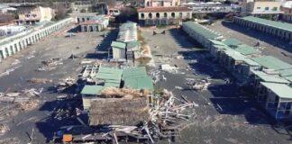 Lo stabilimento balneare La Casetta devastata dalla malapolitica