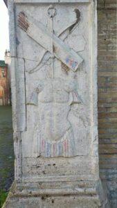 Ostia Antica: atto vandalico alla Cattedrale di Sant'Aurea 1