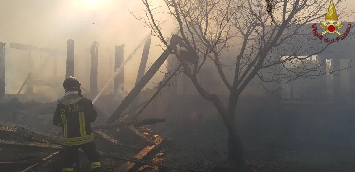 incendio Casal Palocco