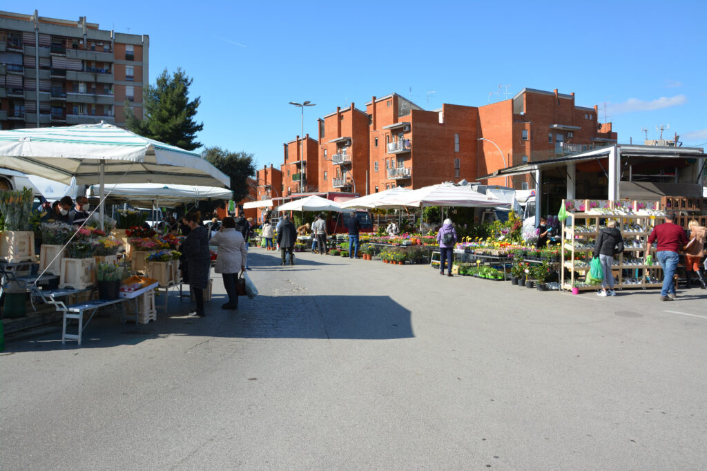 mercato del sabato pomezia