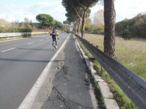 """Pista ciclabile Roma-Ostia, parlano i ciclisti: """"Ecco la nostra idea"""" 2"""