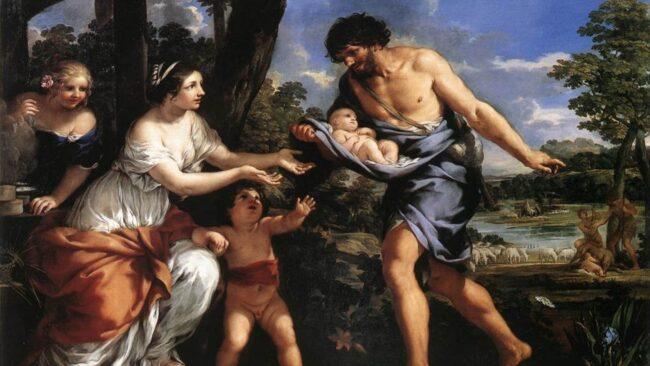 Romolo e Remo e i sacri confini di Roma 3
