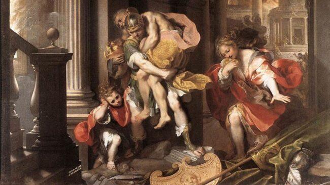 Romolo e Remo e i sacri confini di Roma 1