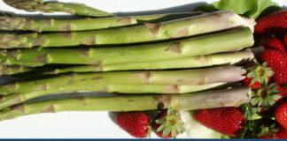 asparagi e fragole
