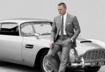 elettrica l'Aston Martin di James Bond