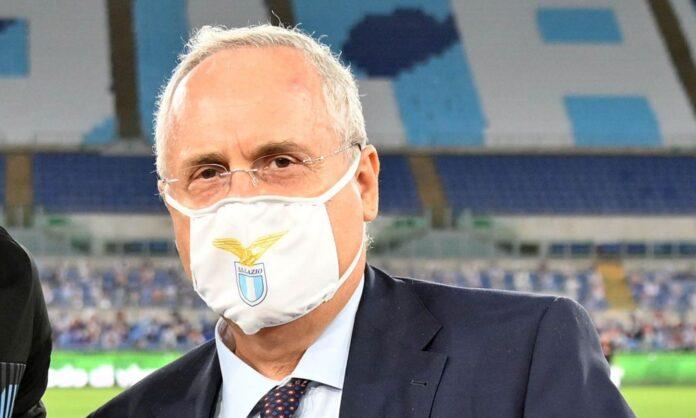 Presidente della Lazio Claudio Lotito