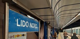 ferrovia metro Roma-Lido
