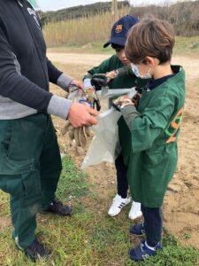Lido dei Pini, i volontari puliscono la spiaggia di fronte al depuratore 4