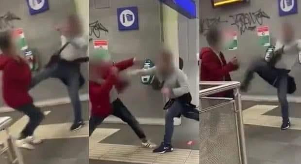 aggressione omofoba Valle Aurelia