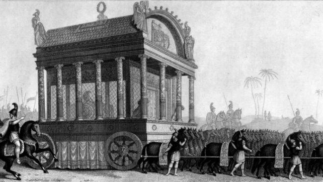 La tomba di Alessandro Magno e il suo viaggio nel tempo 1