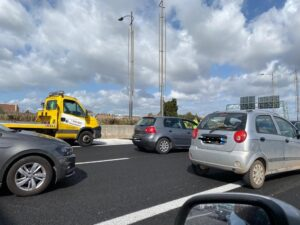 Incidente mortale sulla Roma-Fiumicino: pedone deceduto 4
